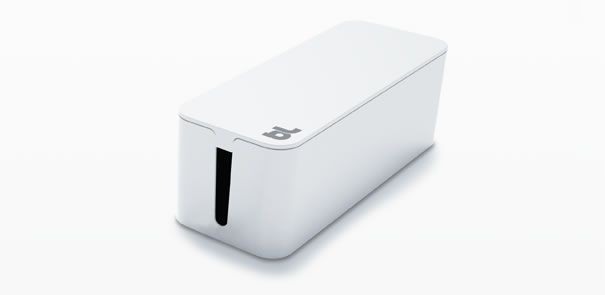 Bluelounge - CableBox White