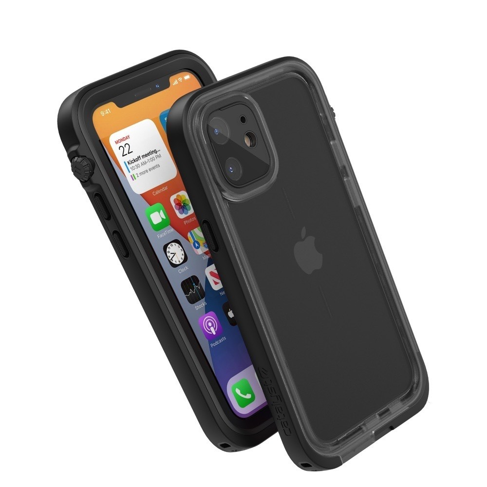 Catalyst Total Protection Case for iPhone 12 mini - Black, CATIPHO12BLKS