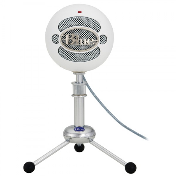 Blue Snowball USB Condenser Microphone with Accessory Pack Bundle