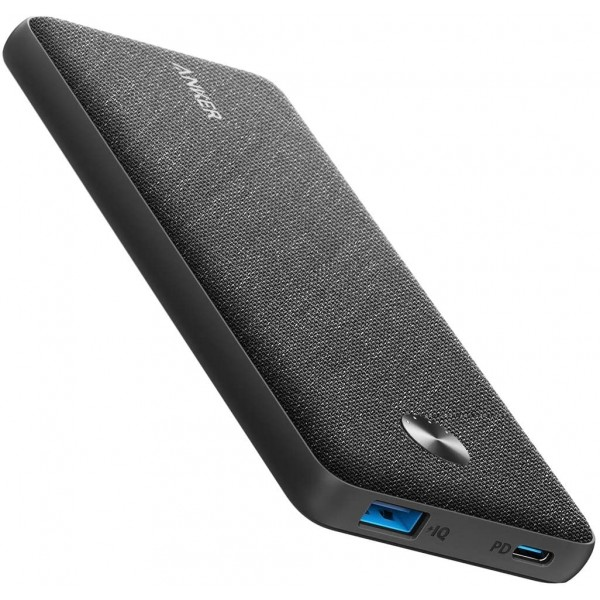 ANKER PowerCore III Sense 10000 - Black Fabric, A1231T11