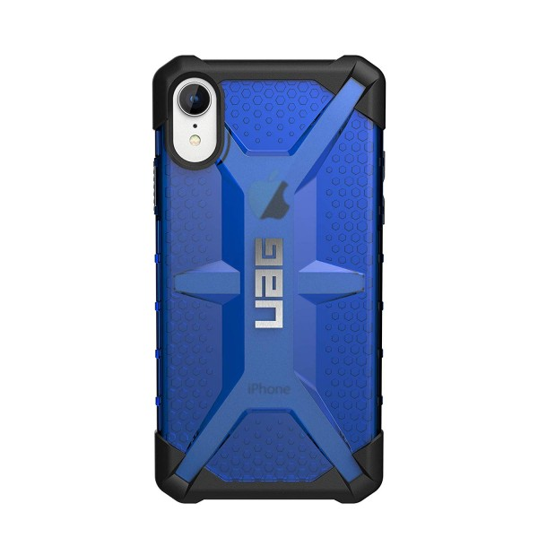 Urban Armor Gear Phone XR Plasma Feather-Light Rugged Military Drop Tested iPhone Case - Cobalt, 111093115050