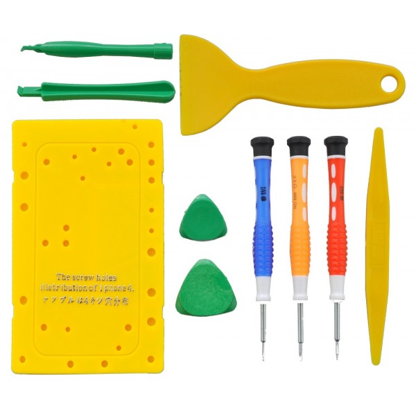 iPhone 4/ 4S Opening tool kit with screw plate, TOOLS-SP-12917