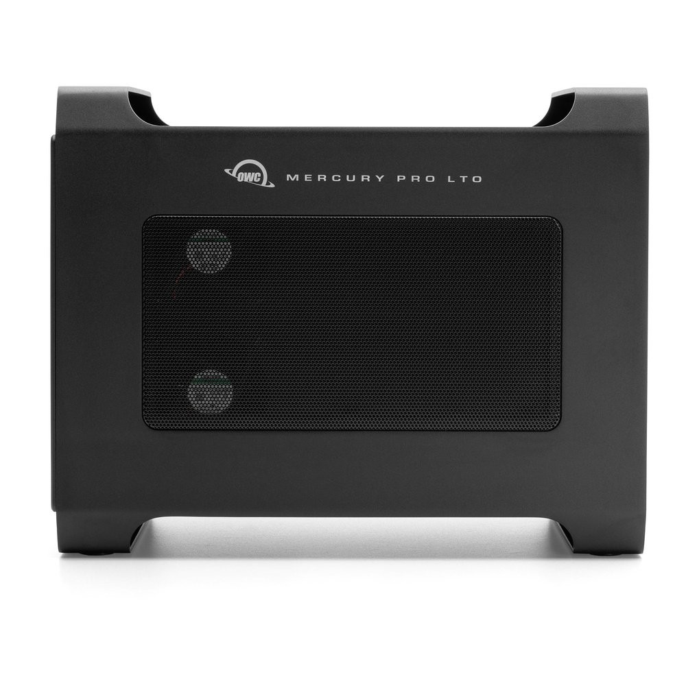 OWC Mercury Pro LTO LTO-8 Thunderbolt Tape Storage/Archiving Solution with 2.0TB SSD Staging Drive, OWCTBLTMP80S02