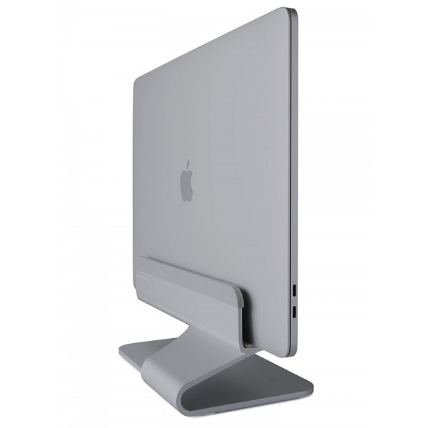 Rain Design - mTower Vertical Laptop Stand for Macbook Air and MacBook Pro - Space Grey, 10038