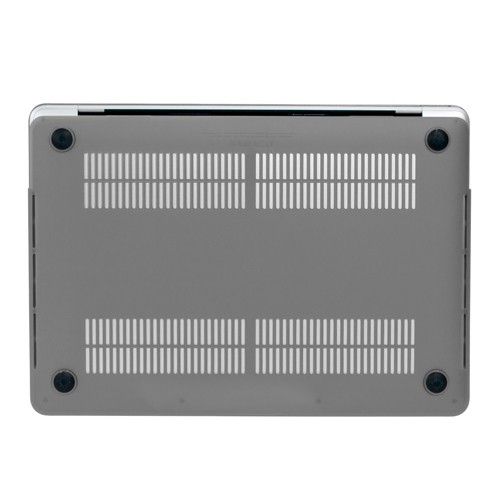 """NewerTech NuGuard Snap-on Laptop Cover for 12"""" MacBook (2015 - Current) - Gray, NWTNGSMBC12GY"""