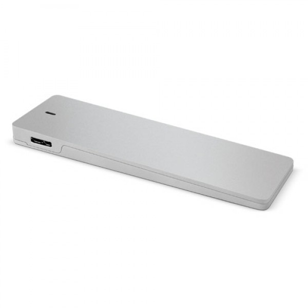 OWC Mercury Aura Pro Envoy USB 2.0/3.0 Enclosure for data transfer/continued use of Apple SSD.