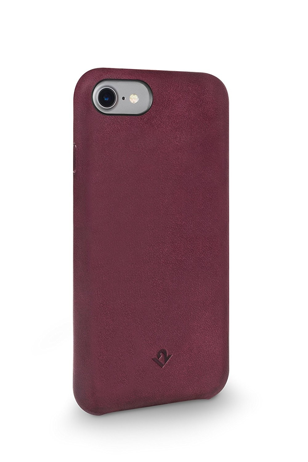 Twelve South Relaxed Leather for iPhone 8/7//6S - Marsala, 12-1642