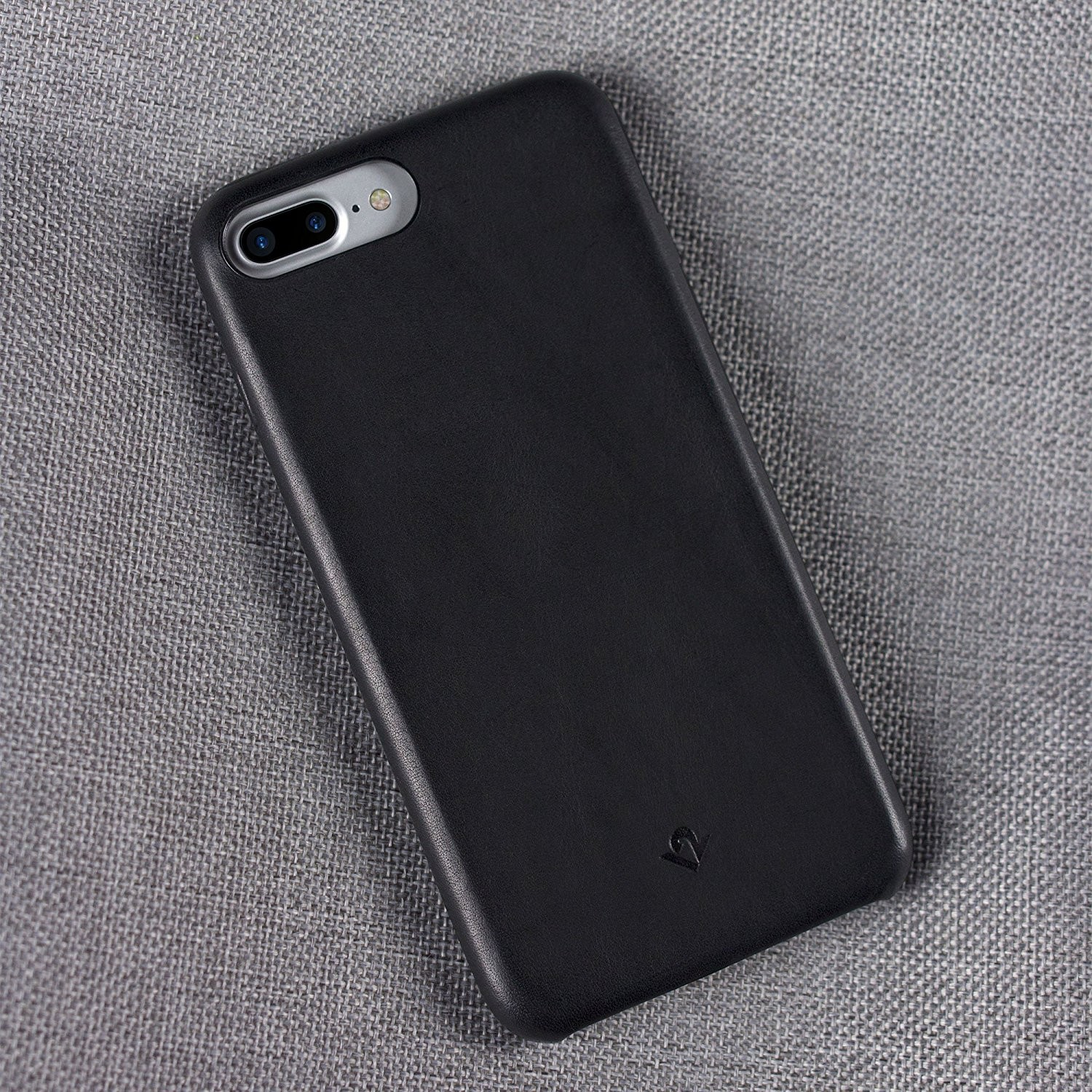 Twelve South Relaxed Leather for iPhone 8 Plus/7 Plus/6S Plus - Black, 12-1648