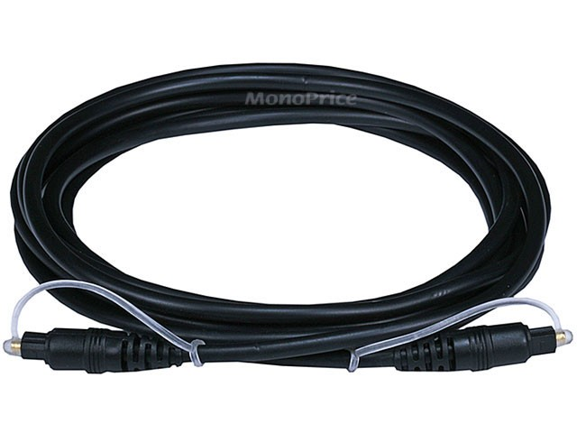 10ft Optical Toslink 5.0mm OD Audio Cable, TOS-6272