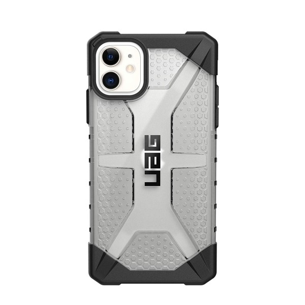 UAG Plasma Case for iPhone 11, Feather-Light Rugged Military Drop Tested - Ice, 111713114343