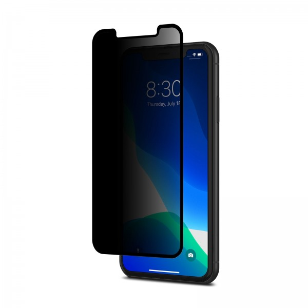 Moshi IonGlass Privacy for iPhone 11 / Xr - Black, 99MO115001