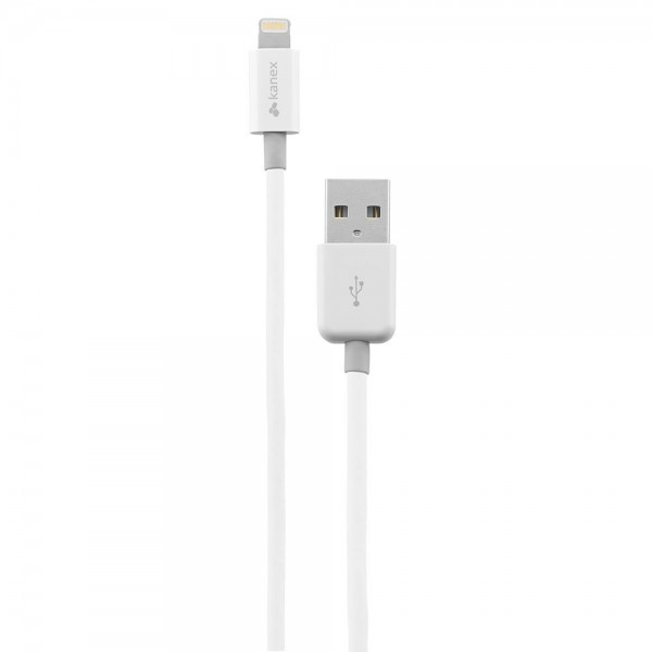 Kanex Apple Certified Lightning to USB Cable 1.8 m  - White, K8PIN6F