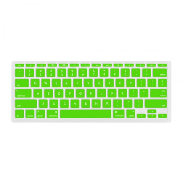 "NewerTech NuGuard Keyboard Cover for all 2011-2016 MacBook Air 11"" models - Green, NWTNUGKBA1211G"