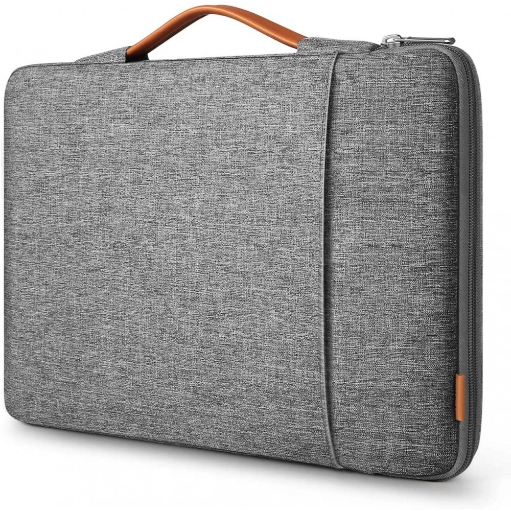 Inateck 13-13.3 Inch MacBook Air/Pro/Surface Laptop Sleeve Case - Light Gray, B081HZ4D87