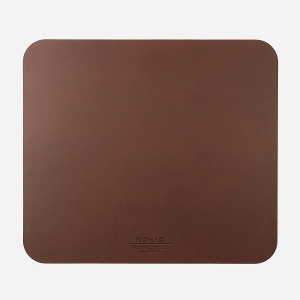 Nomad - Horween Leather Mouse Pad - Brown, NM701R0000