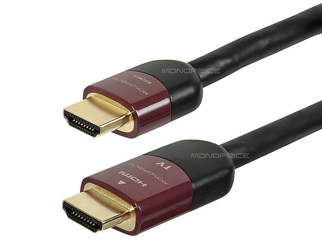 15m Ultra Slim Series High Performance HDMI Cable w/ RedMere Technology, HDMI-9432