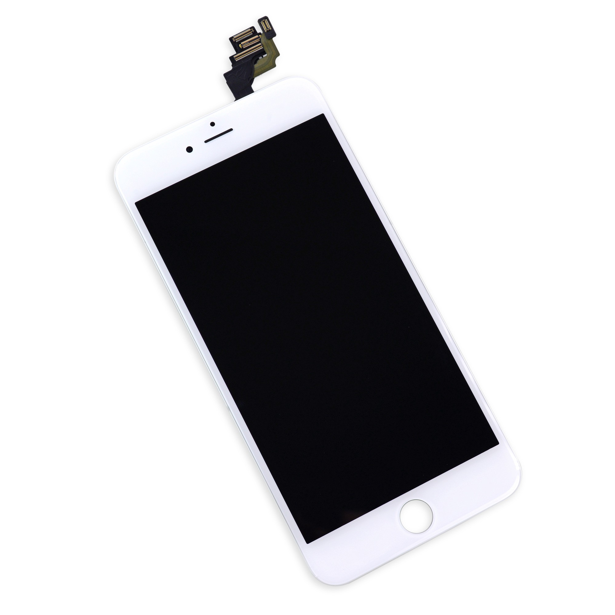 iFixit iPhone 6 Plus LCD Screen and Digitizer Full Assembly - White - Full Repair Kit Including Tools, IF269-000-12