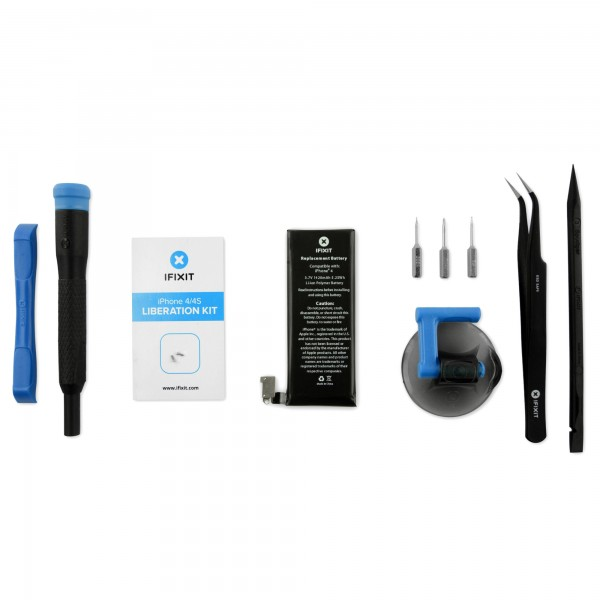 iFixit iPhone 4 Replacement Battery, New - Fix Kit, IF182-000-3