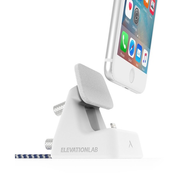 **DISCONTINUED** Elevation Lab ElevationDock 4 for iPhone - White, ED4-106