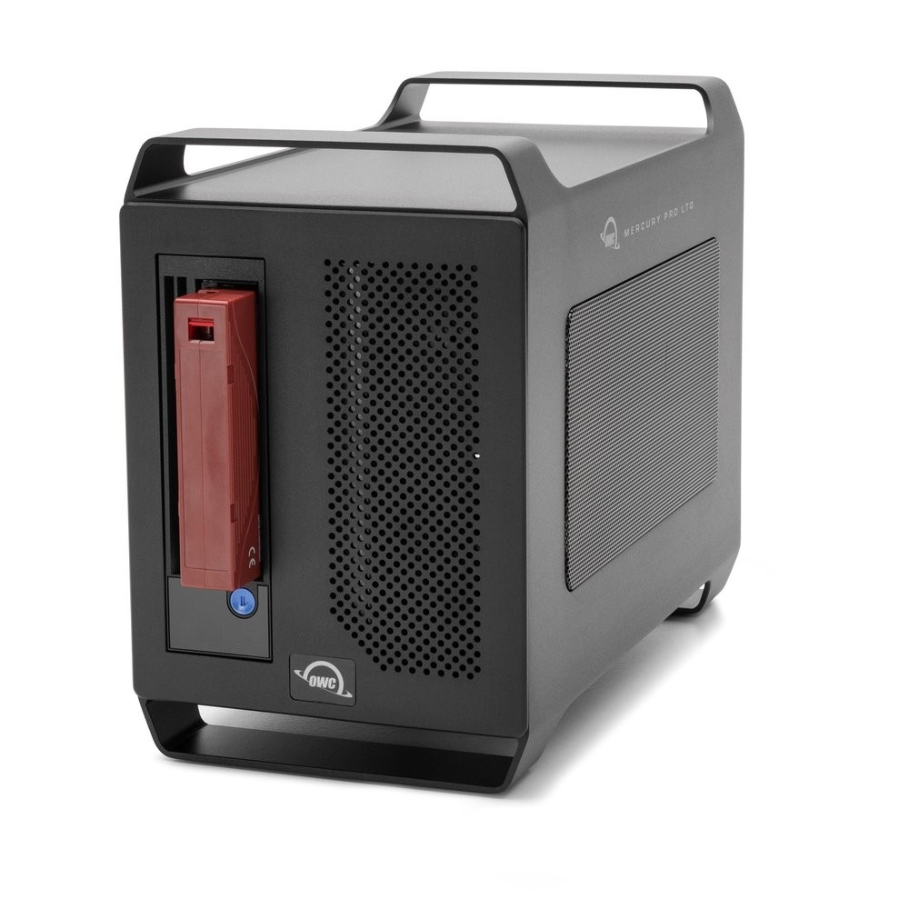 OWC Mercury Pro LTO LTO-8 Thunderbolt Tape Storage/Archiving Solution with 16.0TB Onboard SSD Storage with ArGest Backup Software, OWCTBLTMP8AS16