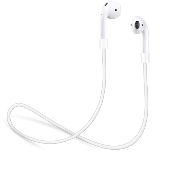 Strap for Apple AirPods by innoGadgets, Connector Wire Cable Cord for AirPods, 56 cm - White, B07H1DFHJD