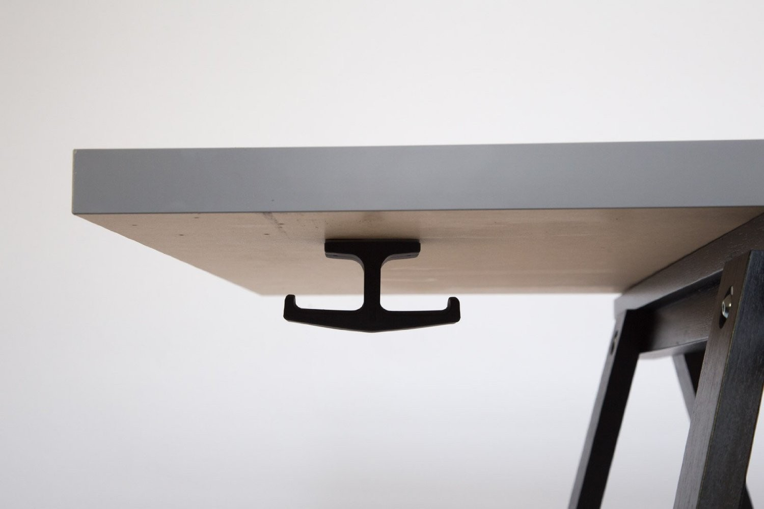 The Anchor - THE ORIGINAL Under-Desk Headphone Stand Mount, B00P31BMHG