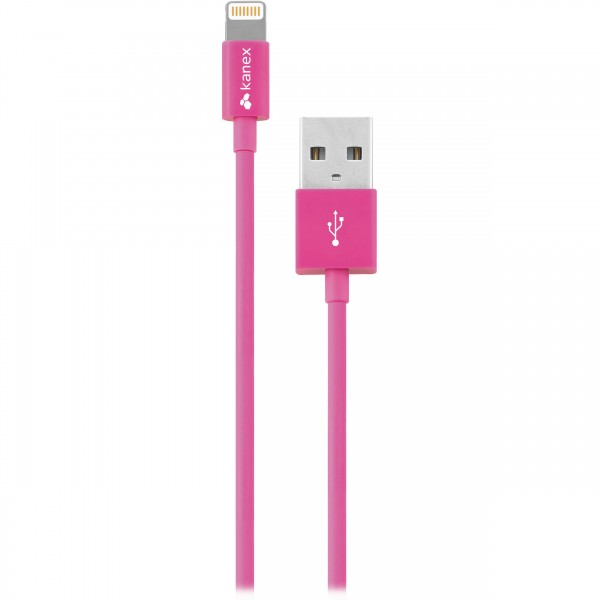 Kanex Charge and Sync Cable with Lightning Connector 1.2 m - Pink, K8PIN4FPK