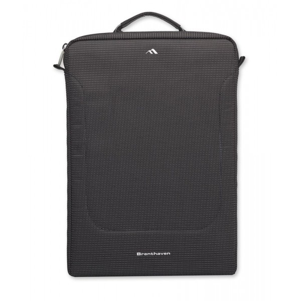 "Brenthaven Tred™ Sleeve with Pouch 13"" - Black, BR-2690"