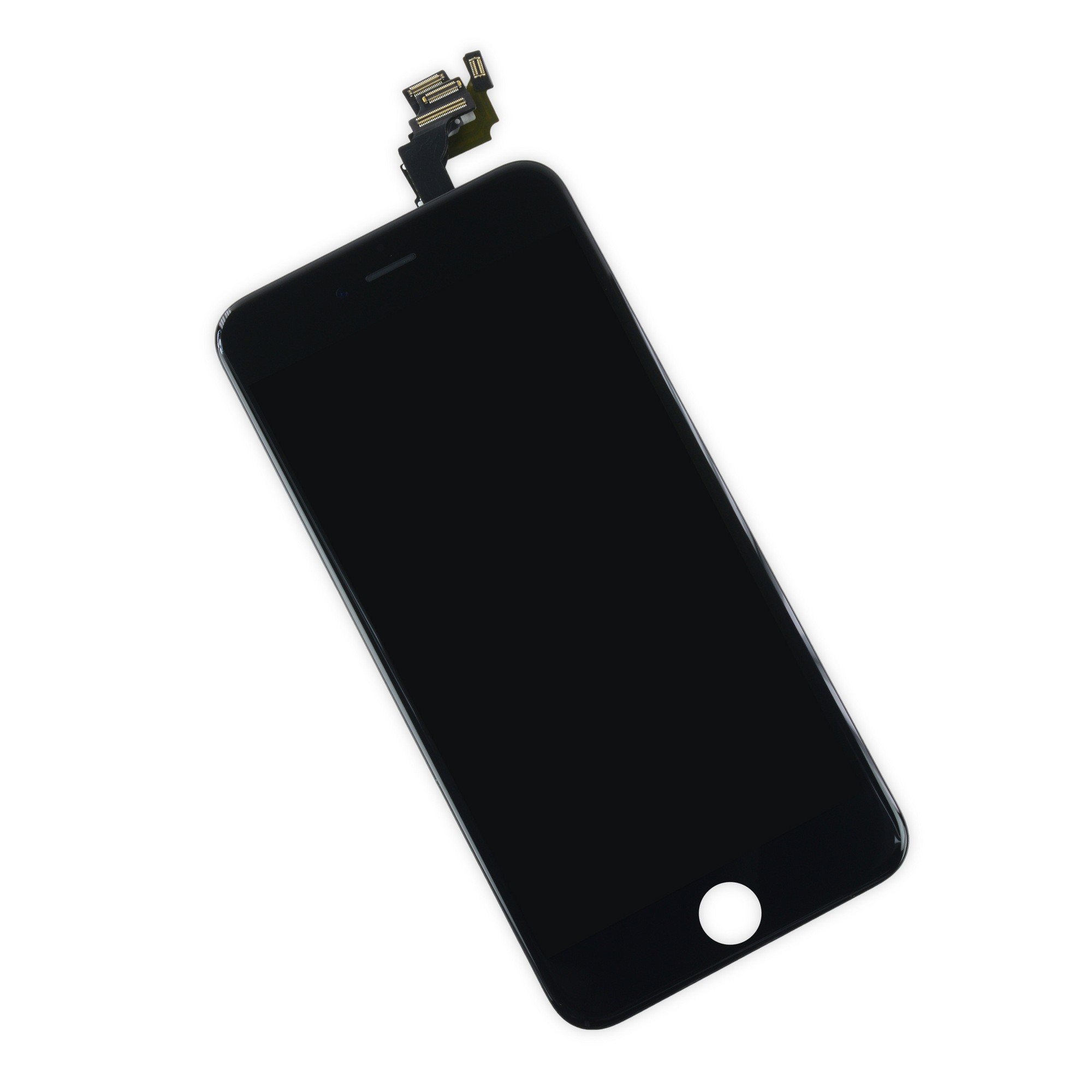 iFixit iPhone 6 Plus LCD Screen and Digitizer Full Assembly - Black - Full Repair Kit Including Tools, IF269-000-11