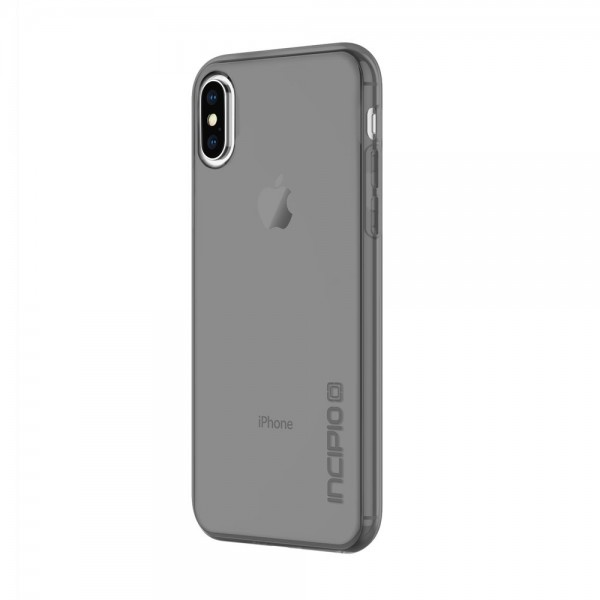 Incipio NGP Pure Slim Polymer Case for iPhone X - Smoke, IPH-1630-SMK