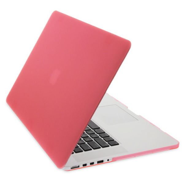Rubberised Hard Cases Laptop Cover for MacBook Air 11-Inch Models -  Pink, DIS-ZF-MR116A-PK