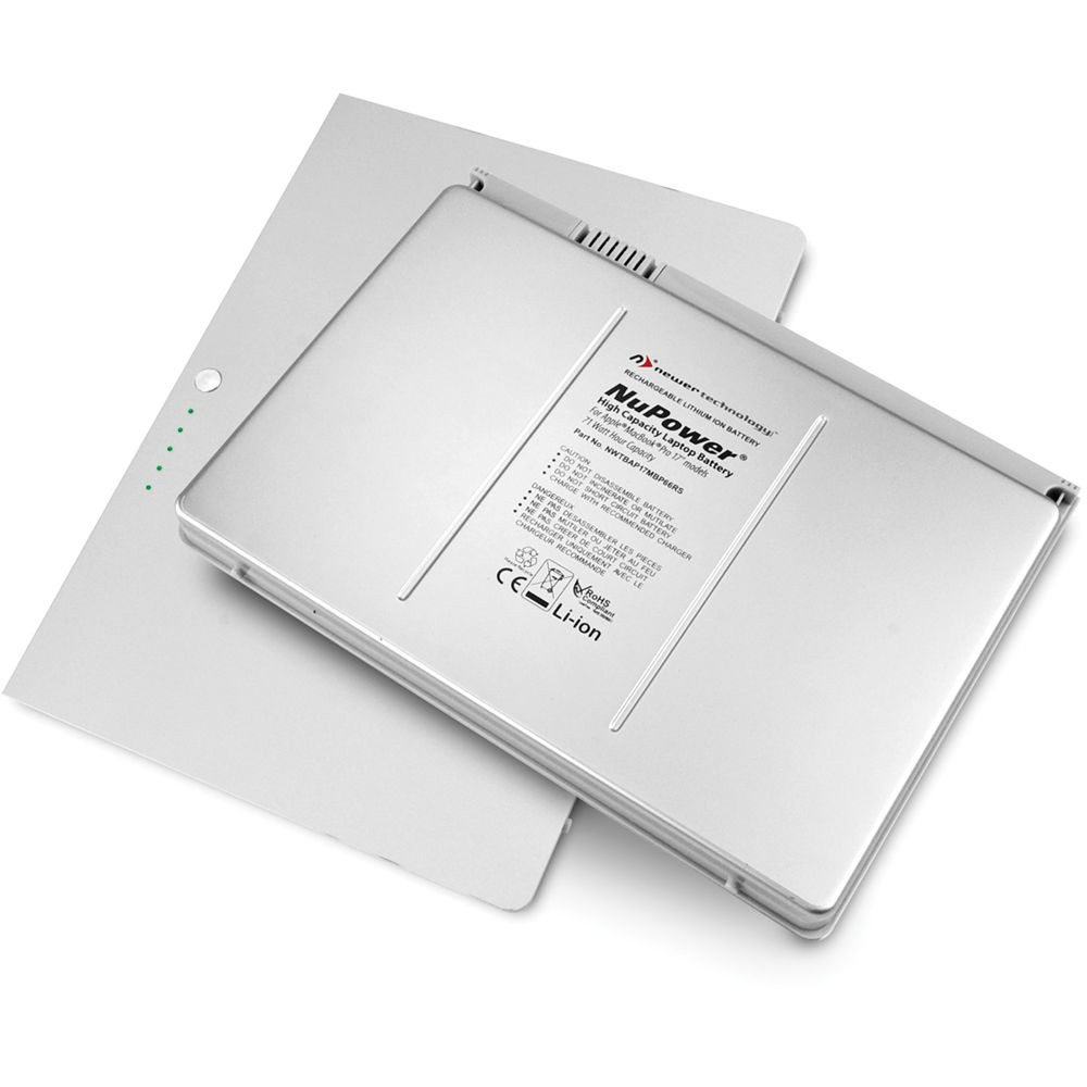 """NewerTech NuPowe 75 Watt-Hour Battery for MacBook Pro 17"""" Pre-Unibody, NWTBAP17MBP75RS"""