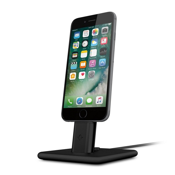 Twelve South HiRise Deluxe 2 for iPhone & iPad - Black, 12-1627