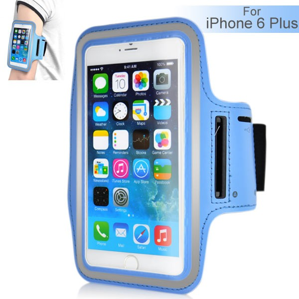 Armband for iPhone 6 Plus 5.5 inch - Light Blue, IPH6+ARM-64843
