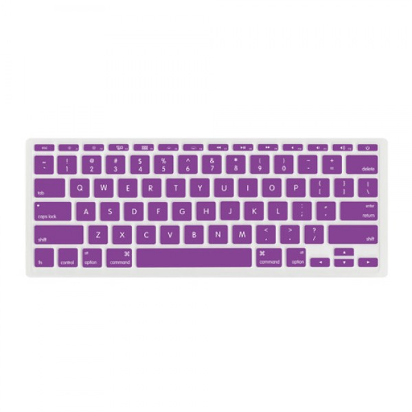 "NewerTech NuGuard Keyboard Cover for all 2011-2016 MacBook Air 11"" models - Purple, NWTNUGKBA1211PU"