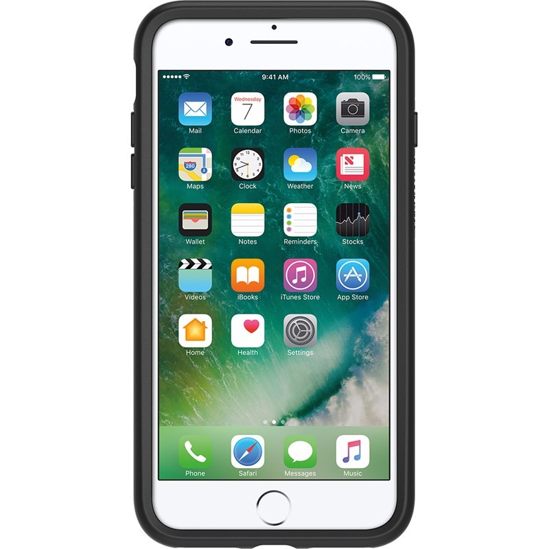OtterBox SYMMETRY Series Case for iPhone 8 Plus & iPhone 7 Plus - Black, 77-56871
