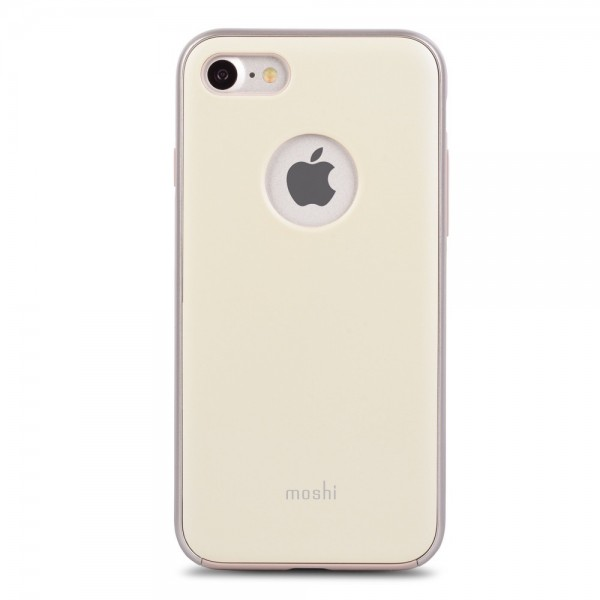 MOSHI iGlaze Slim, Lightweight Snap-On Case for iPhone 8/7 - Mellow Yellow, 99MO088721