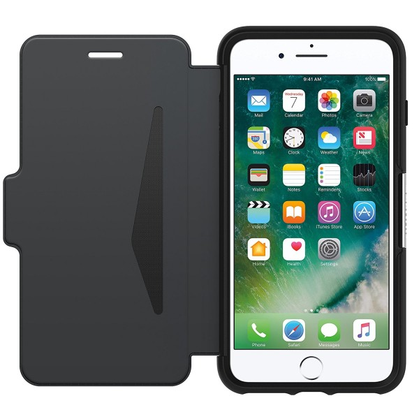 OtterBox Strada Case for iPhone 7 Plus - Onyx, 77-53977