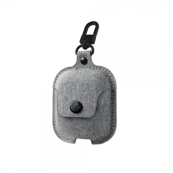 Twelve South AirSnap for AirPods - Fog Grey, 12-1917