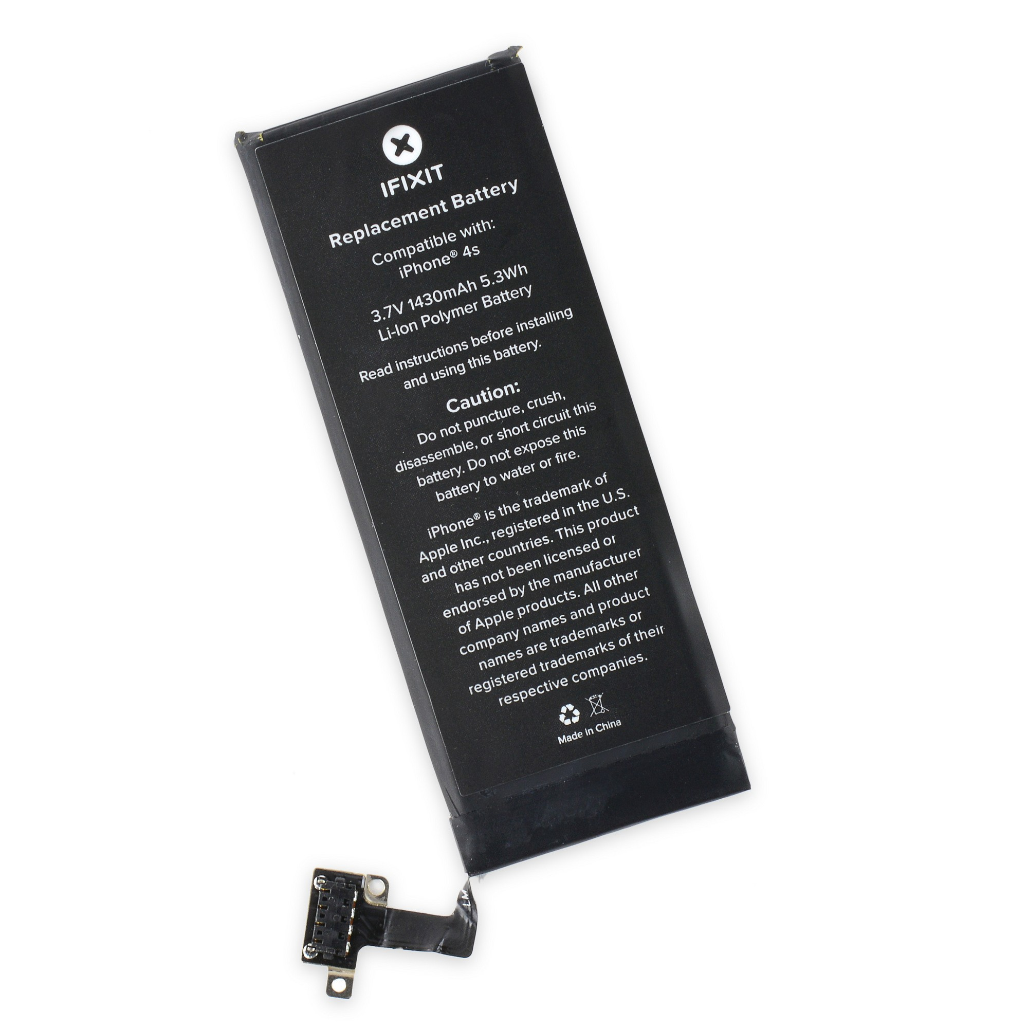 iPhone 4S Battery Replacement From iFixit - With Tools, IF115-005-4
