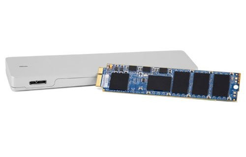 250GB OWC Aura Pro 6G SSD + Envoy Kit for MacBook Air 2010+2011 - Complete Solution with Enclosure, OWCS3DAP116K250