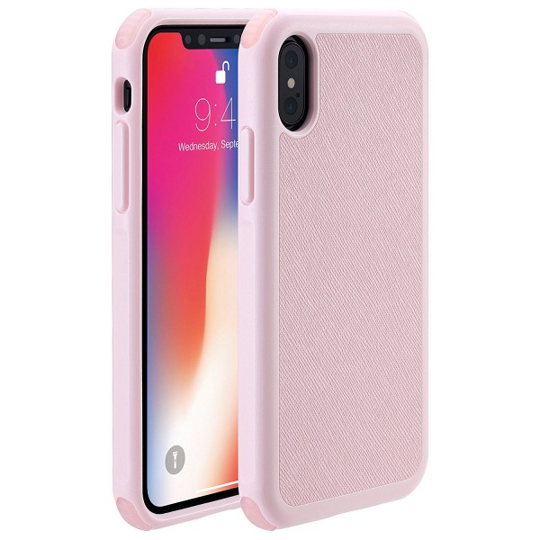 Just Mobile Quattro Air for iPhone X/Xs - Pink, PC-388PK