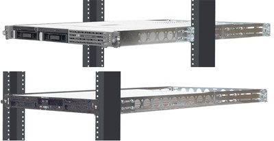 2 Post Rack Rails for 1U Servers or Storage Subsystems.