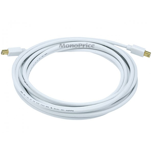Mini DisplayPort / Thunderbolt Male to Mini DisplayPort Male 32AWG Cable (Gold Plated Connectors) - 4.5m, MINDP-MINDP-5993