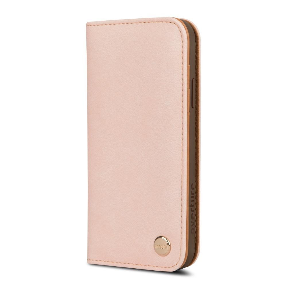 Moshi Overture Wallet Case for iPhone X/Xs - Luna Pink, 99MO101303