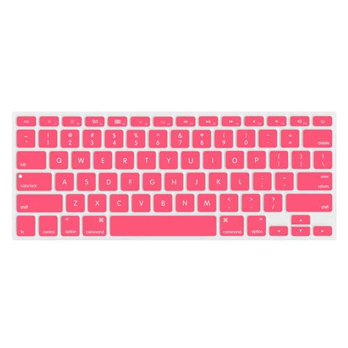 "NewerTech NuGuard Keyboard Cover for 2011-15 MacBook Air 13"", All MacBook Pro Retina - Rose"