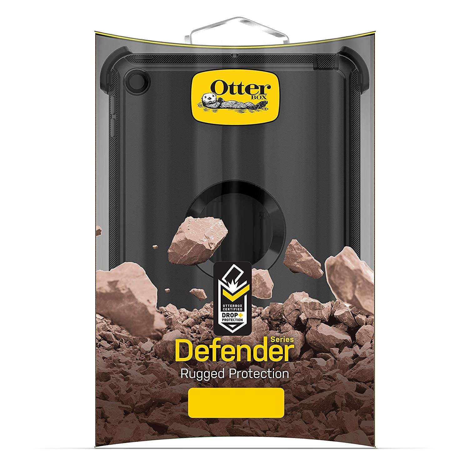 OtterBox Defender Series Case for iPad mini Early 2019 - Black, 77-62216