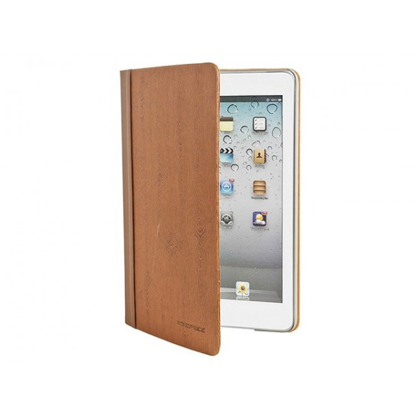 Lumber Stand/Cover with Magnetic Latch for iPad mini 1 - Burnt Orange, IPM1-10304