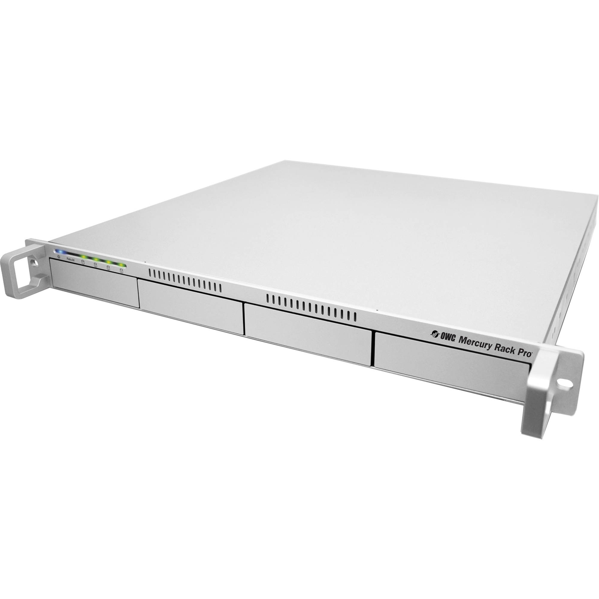 16.0TB (4 x 4.0TB) OWC Mercury Rack Pro 4 Bay SAS 1U Rackmount Solution - Enterprise Class, OWMRPMSS4B16.0E
