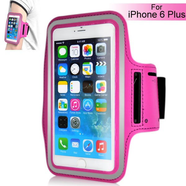Armband for iPhone 6 Plus 5.5 inch - Magenta, IPH6+ARM-64844